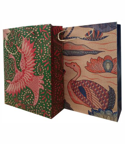 tas batik burung angsa
