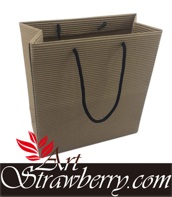 Paper Bag Textur Gelombang